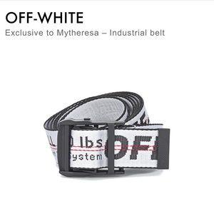 Off-White Belt NWOT